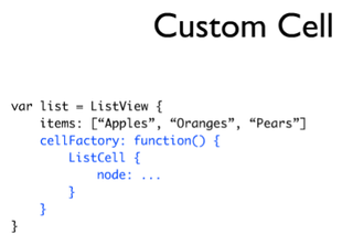 Custom-cell