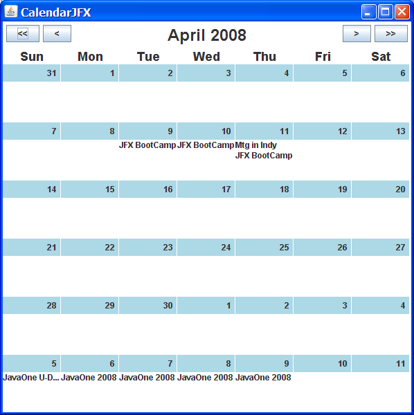 James Weaver on Quantum Computing and Java: A JavaFX Script Calendar