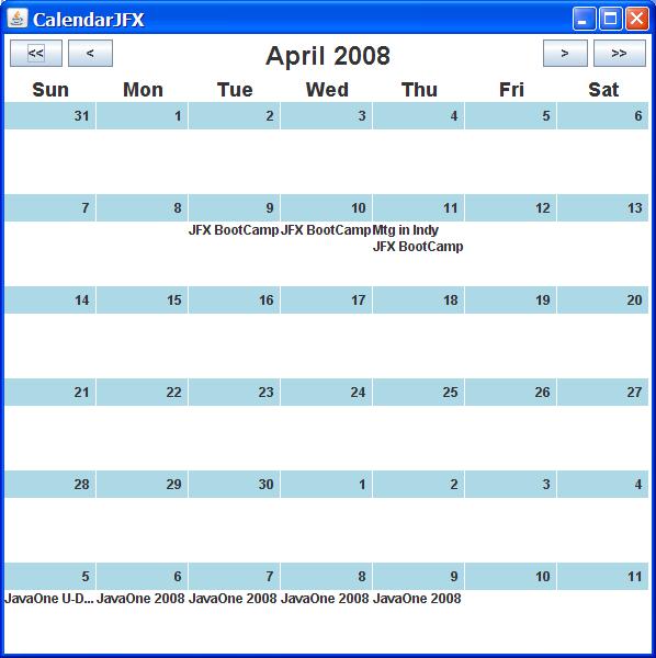 Calendarjfx