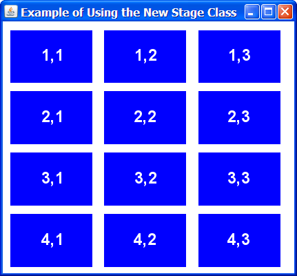 Stageexample